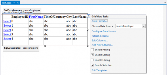 Sorting and Selection Issue in ASP.NET WebForms in Hindi