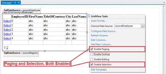 GridView Paging and Selection - Advance ASP.NET WebForms in Hindi
