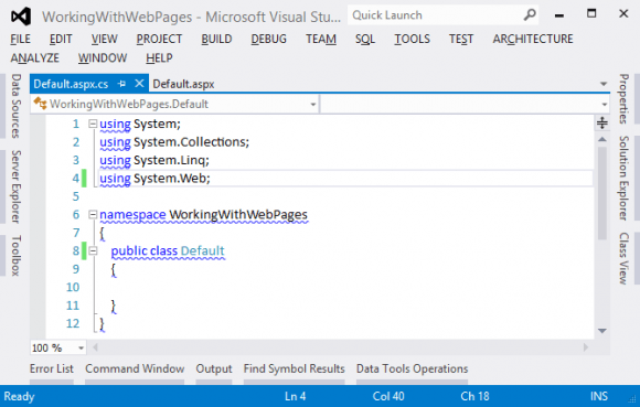 Creating and Configuring Code-Behind File in Core ASP.NET in Hindi