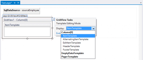 Template Editing in Visual Studio - Advance ASP.NET WebForms in Hindi