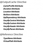 @OutputCache and @Reference Directives - ASP.NET WebForms in Hindi