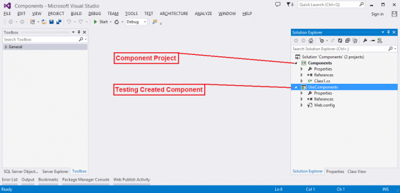 Creating Component in ASP.NET WebForms in Hindi