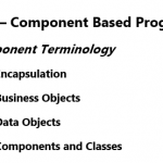 Encapsulation, Business Objects, Data Objects, Components and Classes in Hindi